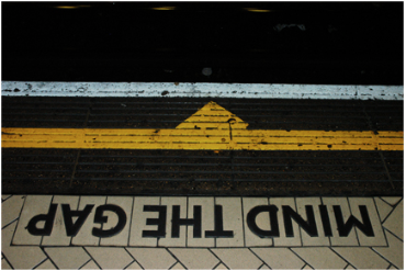 "Romy Owens, ""Mind the Gap (London 65),"" Photograph"