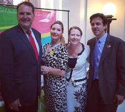 Senator Sparks with Norman delegation in 2014