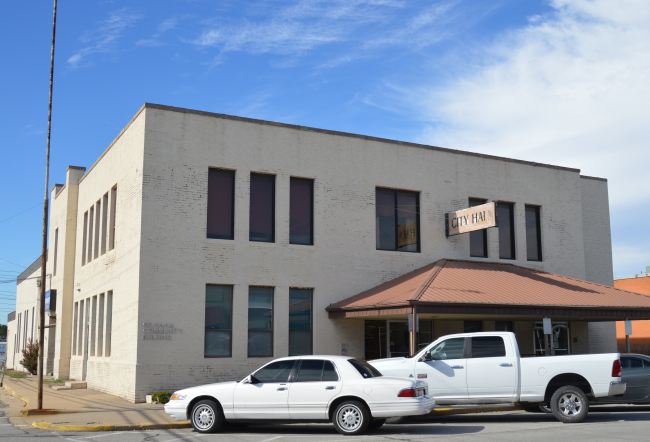 The former city hall building in Pryor is being repurposed as an art center, thanks to a $1/year lease to the Pryor Area Arts & Humanities Council.