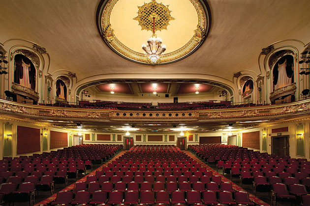 The Coleman Theatre, recently renovated under the management of the city, will serve as the hub of the Cultural District