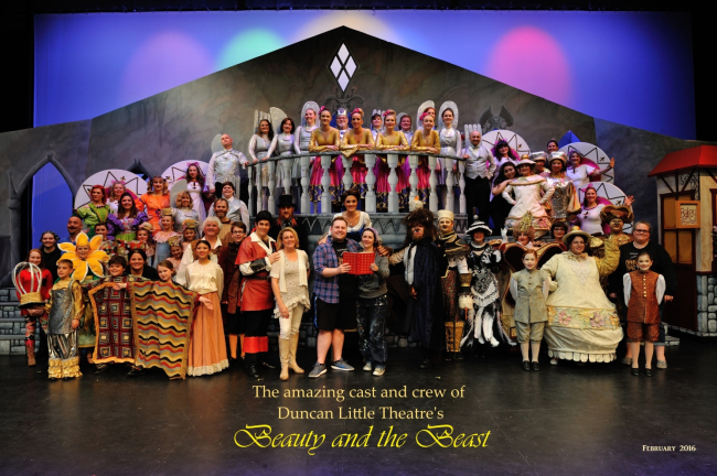 Duncan Little Theatre received rave reviews for their recent performance of Beauty and the Beast.