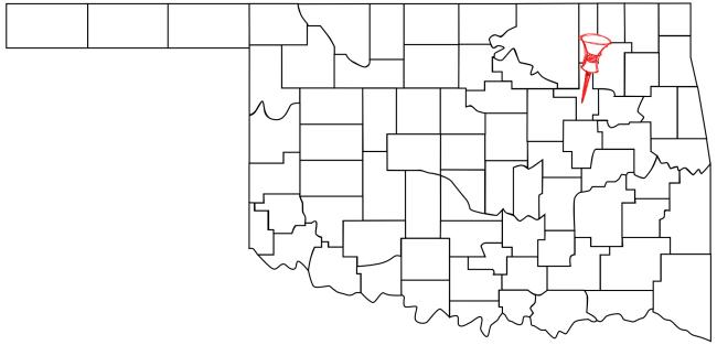 Jenks (Pop. 19,951) is located in Northeastern Oklahoma.