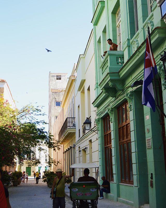 Color Inspo via Havana, Cuba • • • • • • #brittanyblackburndesign #color #colorinspo #cuba #havana #design #historic #linkinbio #travel #building #downtown #colorpop #graphicdesign #photography #travelgram