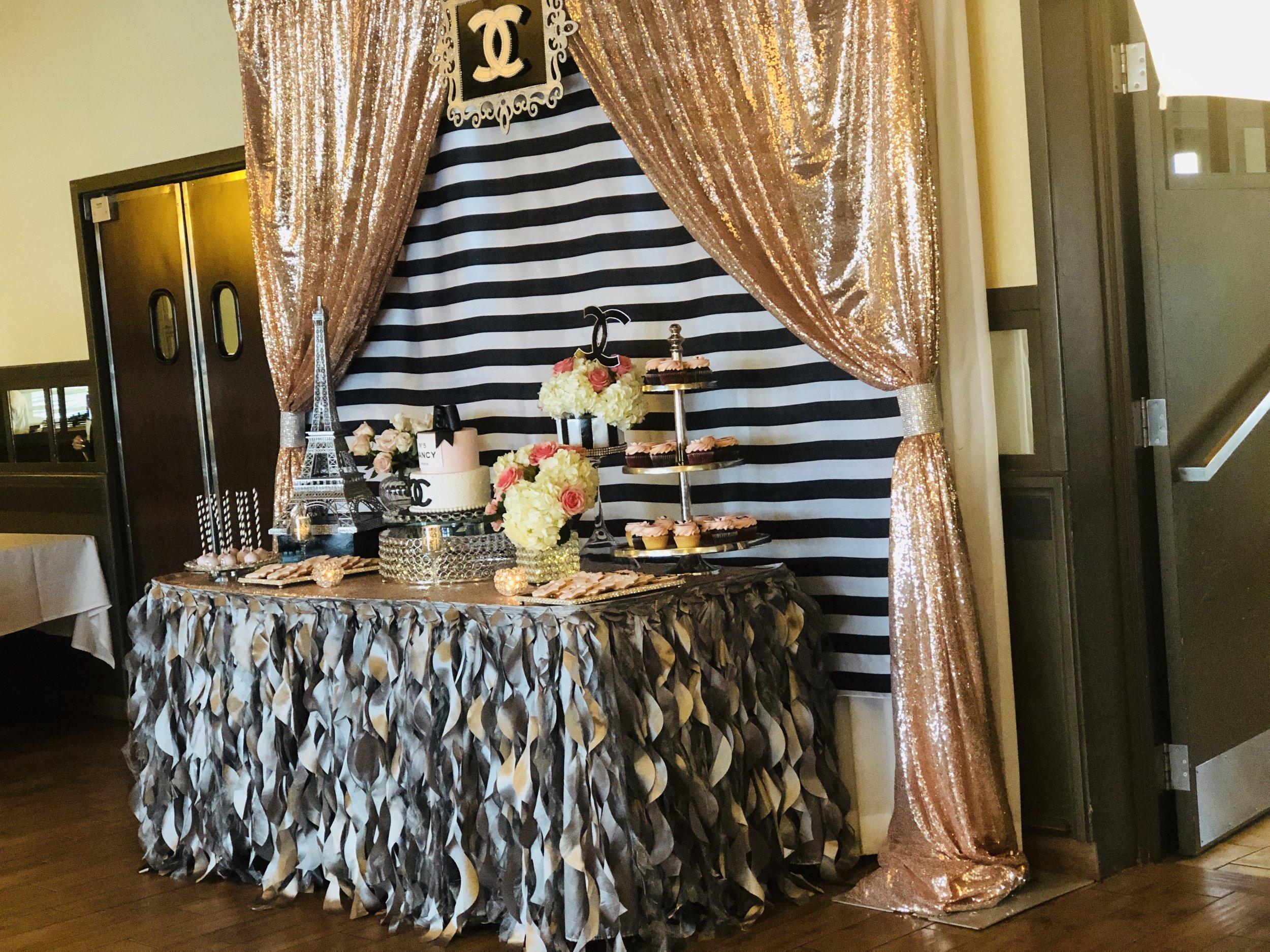 bridal-shower-table decoration-chanel-theme.jpeg