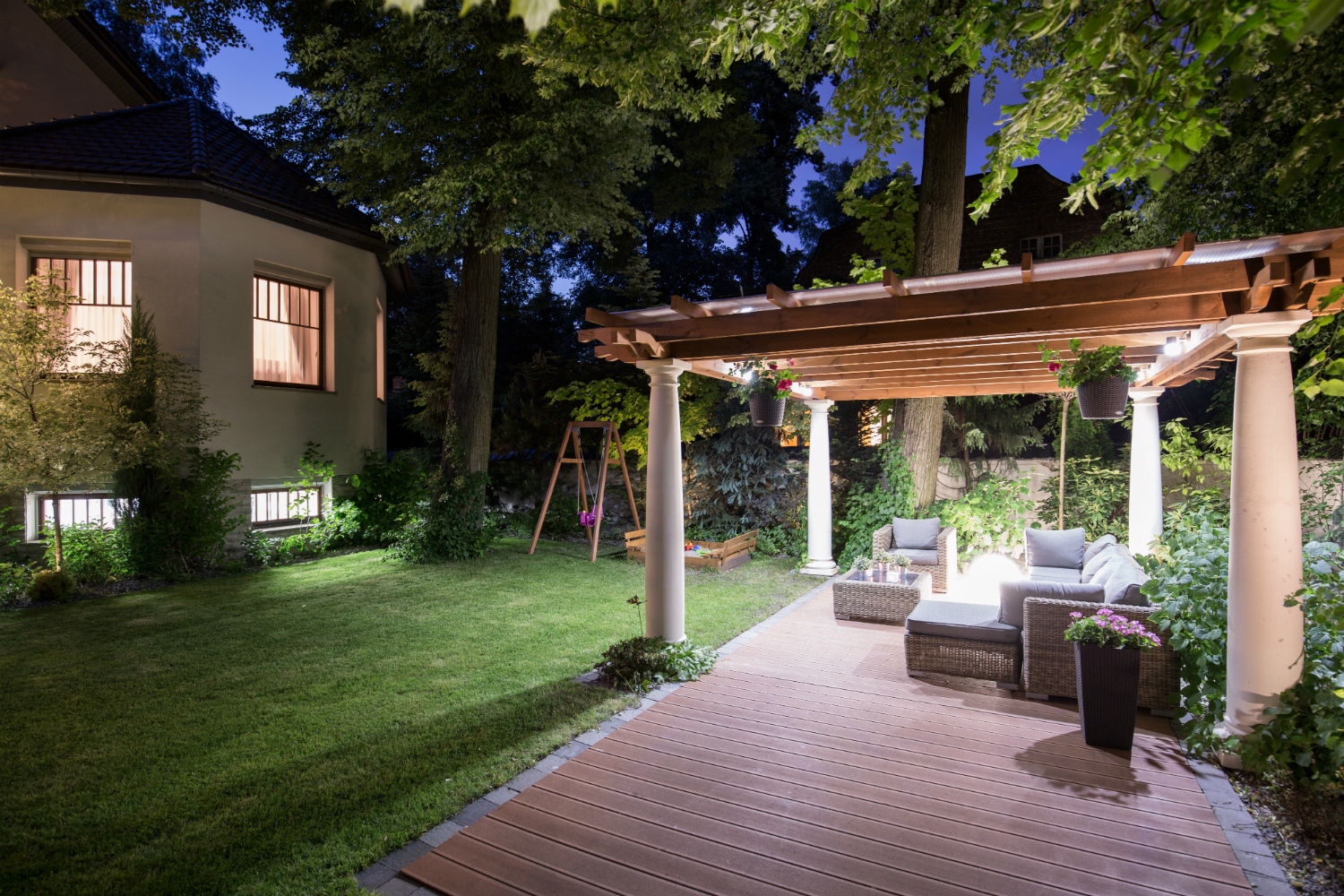 Incorporating Attractive yet Functional Outdoor Lighting in your Fishkill, NY Landscaping
