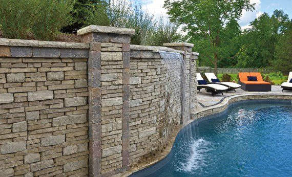 Excellent Unilock Retaining Wall Units for your Poughquag, NY Landscape
