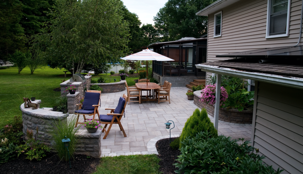 Landscaping Patio Landscape Lighting Westchester County Ny