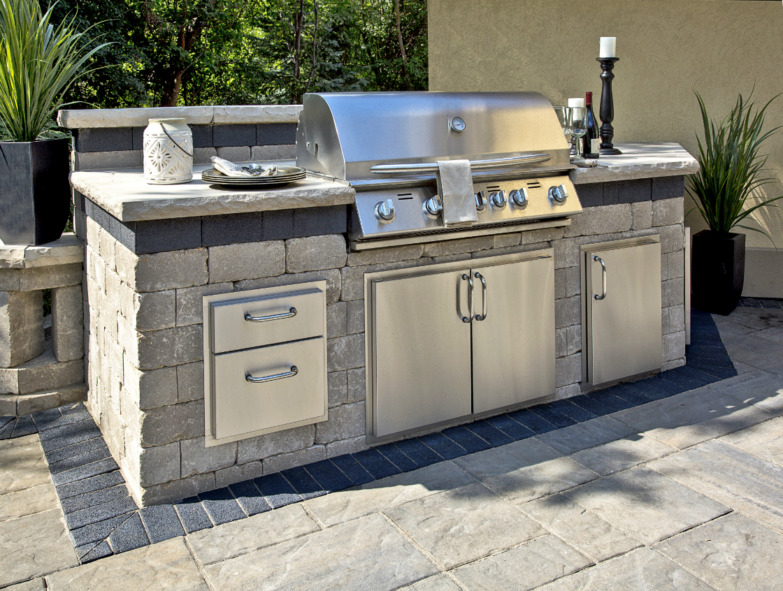 Stunning Outdoor Kitchen Products from Unilock in Lagrangeville, NY