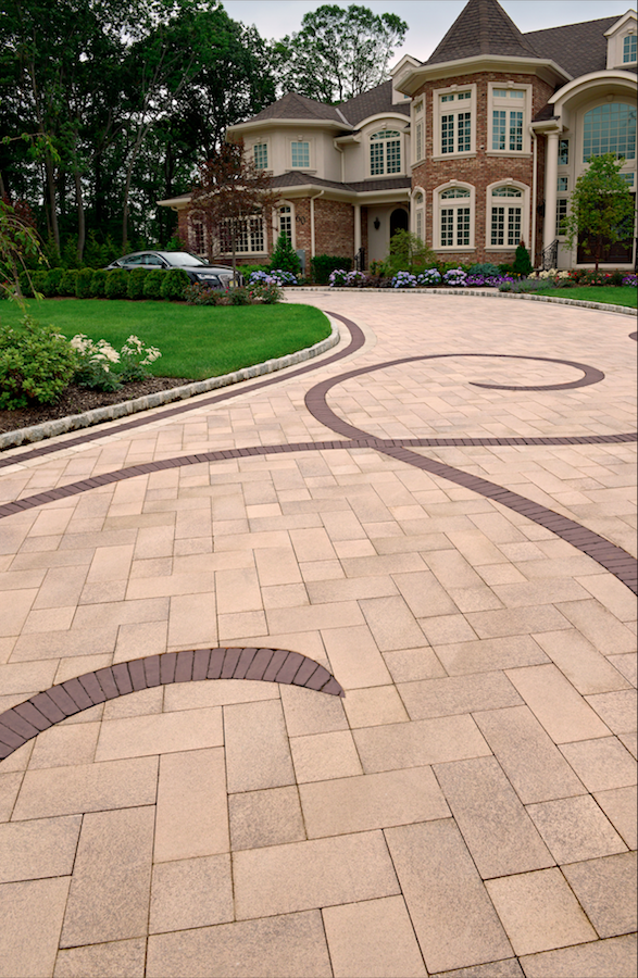 Selecting Pavers for Driveway Edging in Pleasant Valley, NY