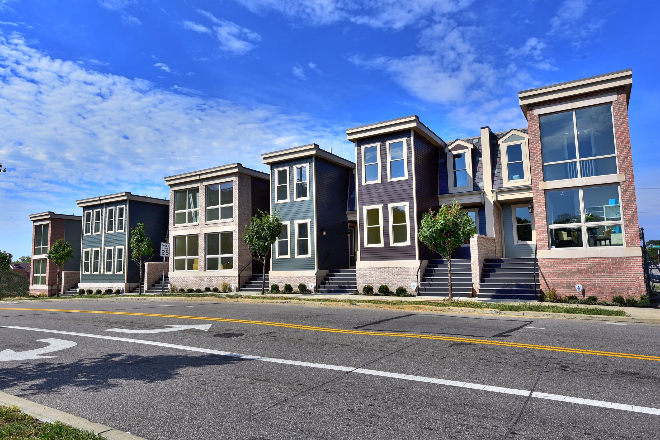 Hickory Townhomes is the first new, for-sale construction housing project in the neighborhood in over a decade.