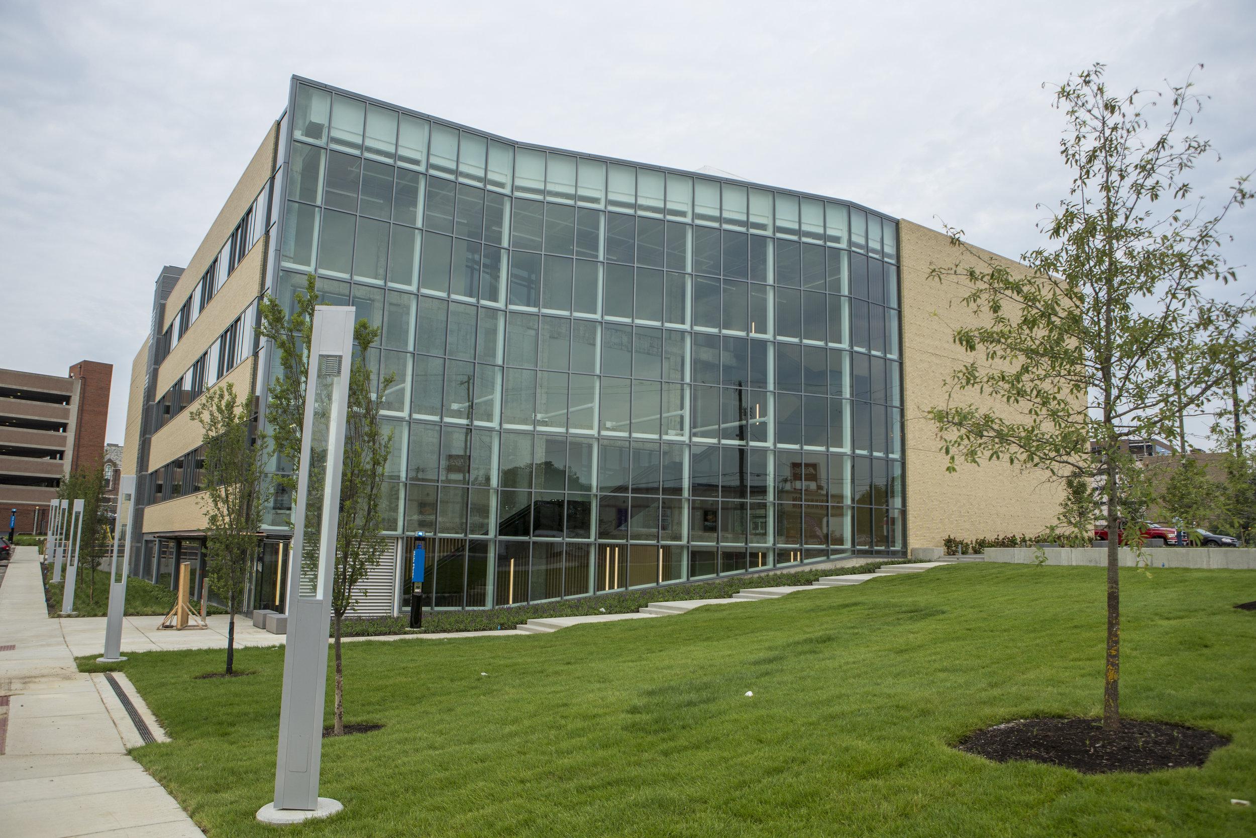 The 1819 Innovation Hub in Cincinnati's Uptown Innovation Corridor.