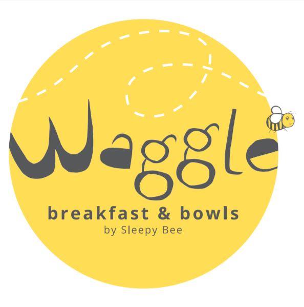 Waggle by Sleepy Bee logo.