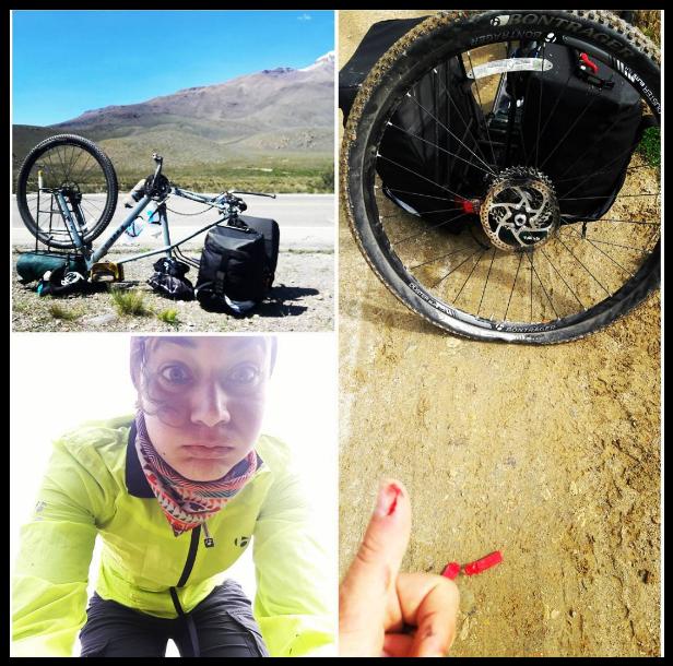 Ioanna - Elle est guide de randonnées à vélo dans le monde entier !Nous avons partagé un bout de route entre Cusco et Puno.