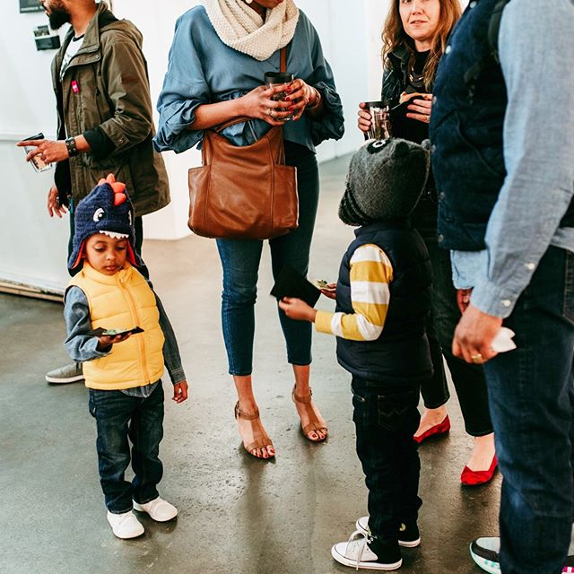 Never too early to get involved with the arts! 📍Marshall Arts Gallery @ The Young Collectors Contemporary