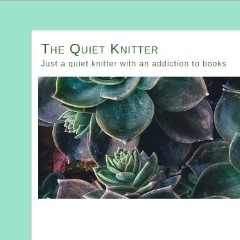 Book blogger - The Quiet Knitter - Lounge Books