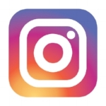 Instagram logo - Lounge Books