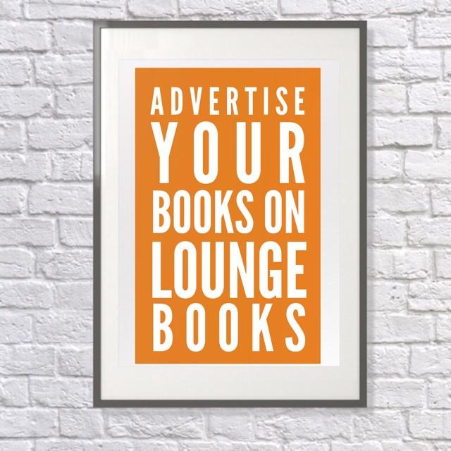 Lounge Books - Ad - Promote your books on Lounge Books