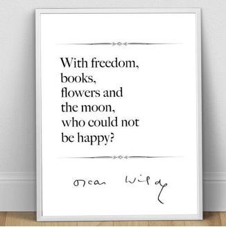 Oscar Wilde print  £8.03