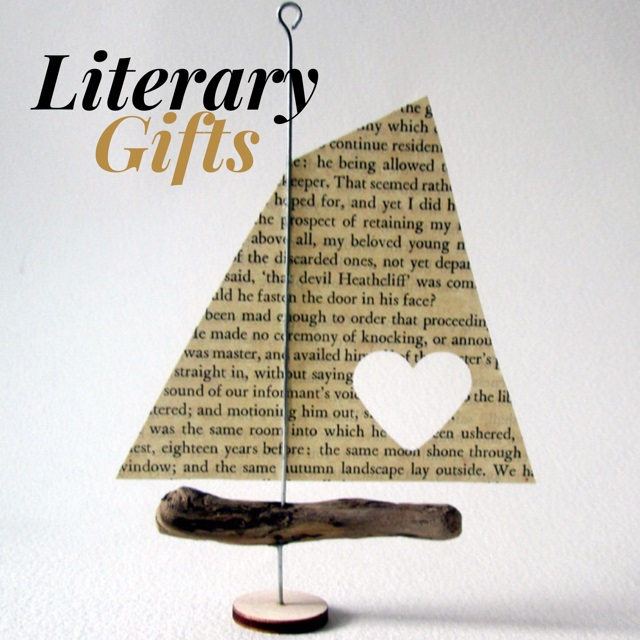 Lounge Books - Literary Gifts ad