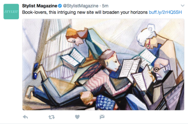 Lounge Books - Stylist magazine