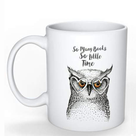 Lounge Books - Easy - Owl Mug