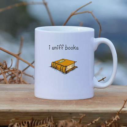 Lounge Books - Etsy - I sniff books