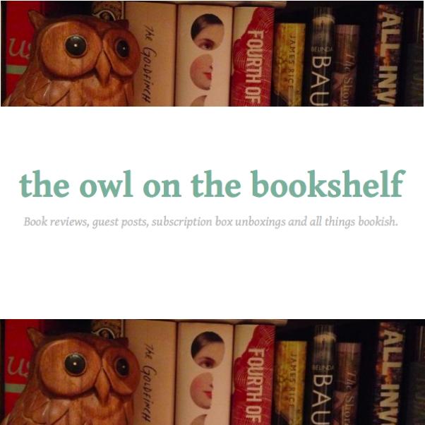 Lounge Books - Bloggers - Owl on Bookshelf