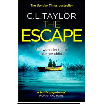 Lounge Books - Book - The Escape C L Taylor