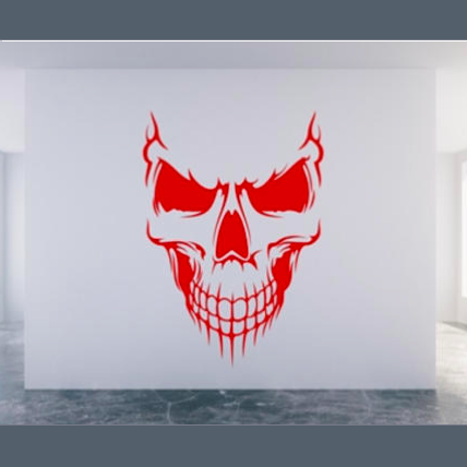 LB - Image - Horror Lounge - Merch - Skull Face, Halloween, Day of the Dead.png