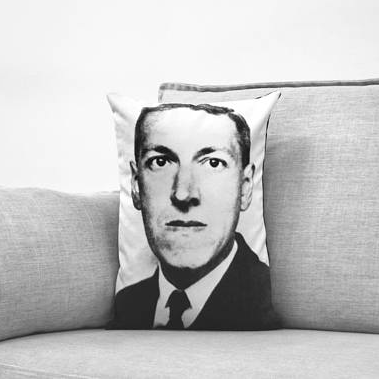 LB - Image - Horror Lounge - Merch - HP Lovecraft pillow.png