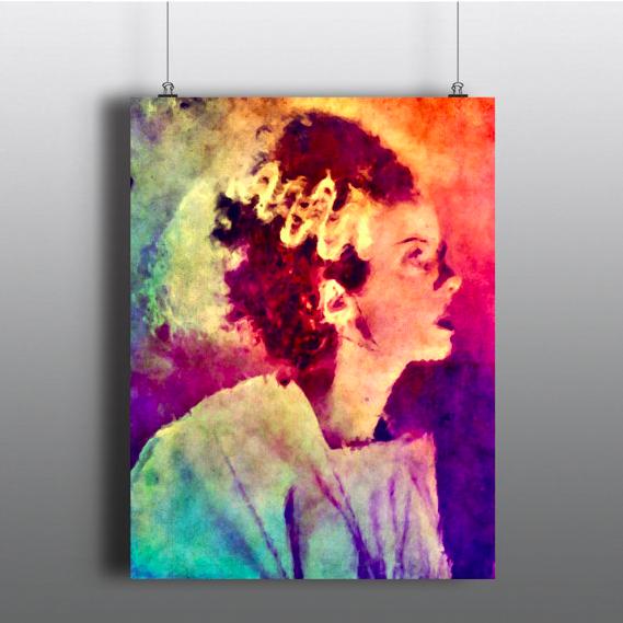 LB - Image - Horror Lounge - Merch - Frankensteins bride poster.png