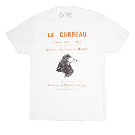 LB - Image - Horror Merch - Edgar allan poe tshirt french.png