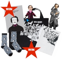 Win a ravenous bundle of Edgar Allan Poe goodies