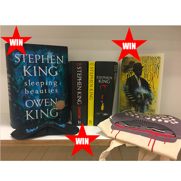Win a stack of Stephen King books
