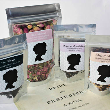 Jane Austen Tea Collection    £3.50