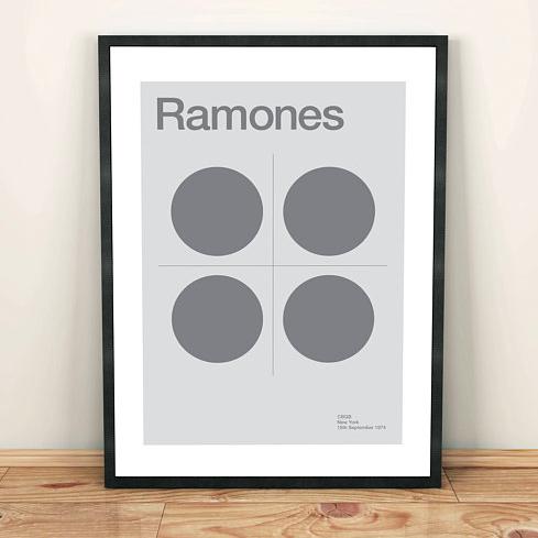 Ramones Print    £10.00