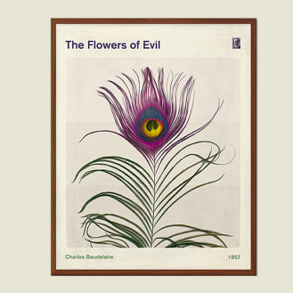 The Flowers of Evil print download £7.79