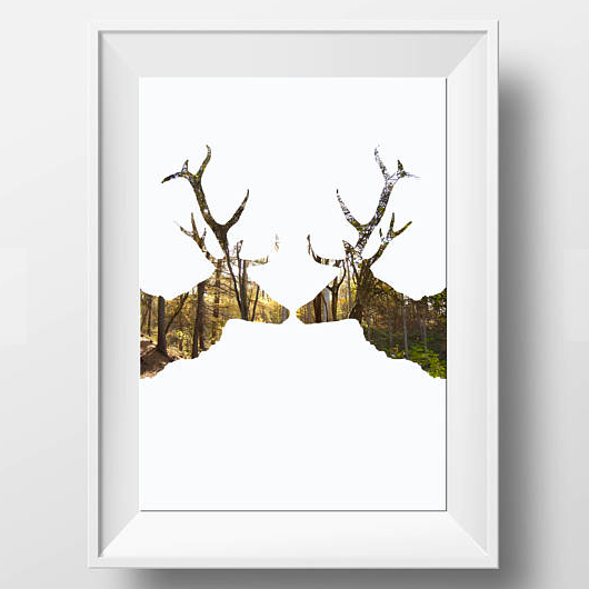 Stag Print £5.00