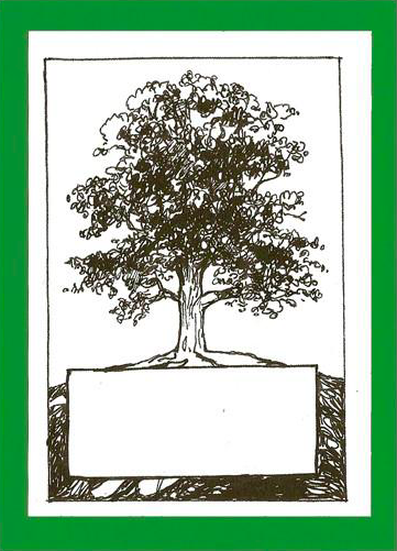 Oak Tree Bookplates    £2.99