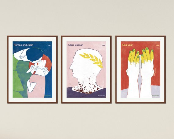 Literary Posters    £15.50