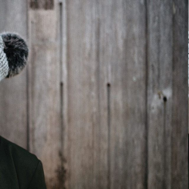 FW18 /UCLUELET the Toque in grey + black pom . Dream team: 💕 Model: @kristerentyeva  Photographer: @hennygraphy  Jewelry/Superfriend: @sarahmulderjewelry  Shops/Scenes: @thewreckageucluelet Ucluelet, BC . #makemorehappy  #MMHxME  #HAPPYxME