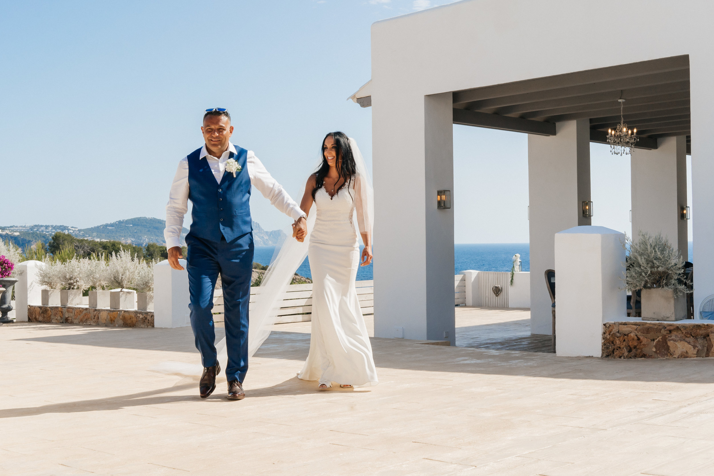 Ibiza Love - A destination wedding under the hot skies of Ibiza, the white Isle….. a second occasion spent with Karen, Neil, Ethan & crew. Ibiza really is a wonderful place and the Elixir was a truly welcoming venue for their special day.