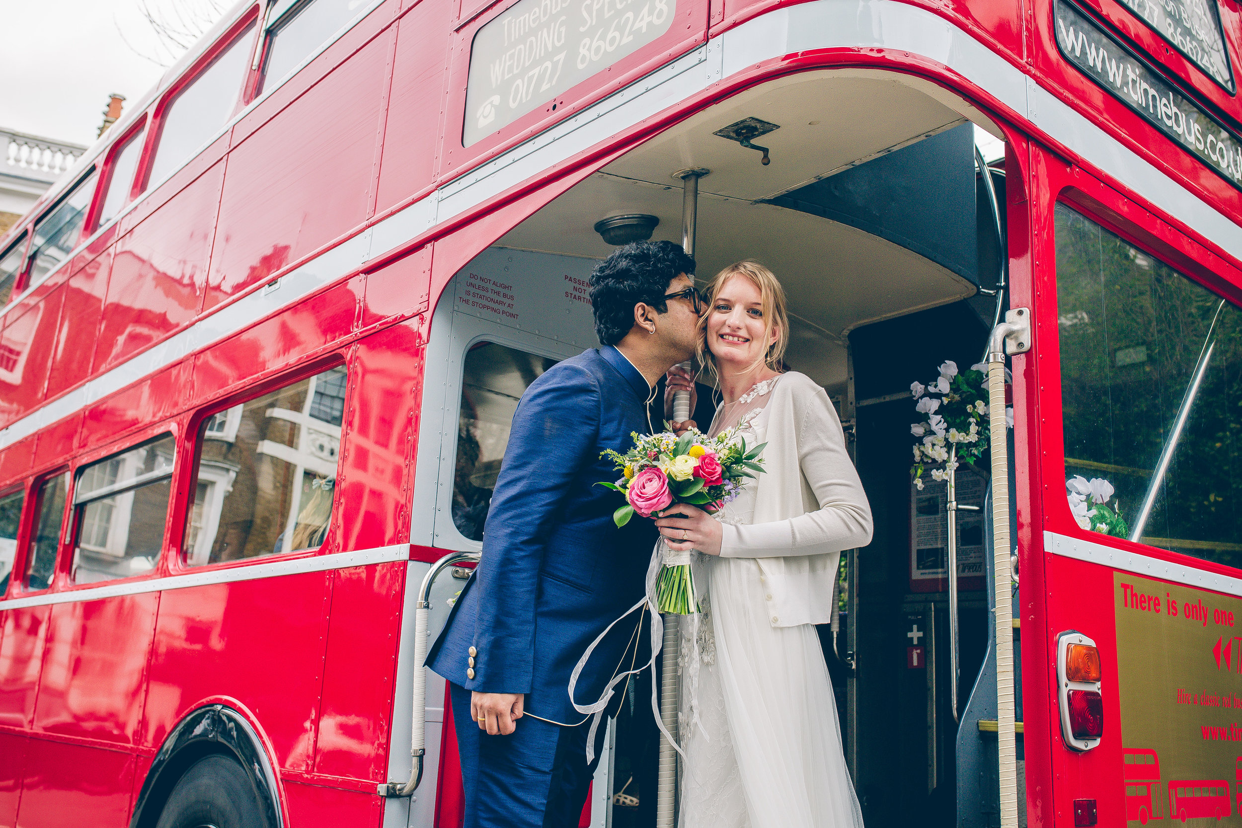 Sophie and Derick - That time I shot in a glorious church, rode a big red bus and visited The Wetlands, all in one day
