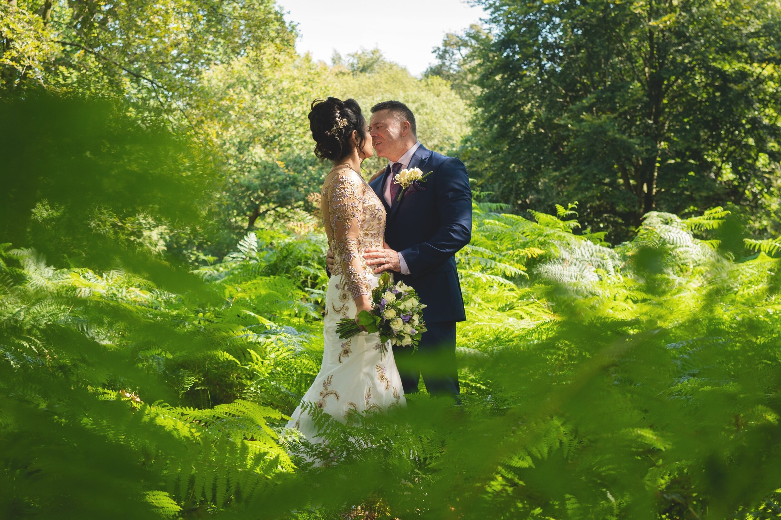 Bejal & Nigel - My first time for a forest wedding. A mixture of dance and culture, laughter and colour form start to finish. The Kings Oak hotel in Epping forest was a perfect backdrop.