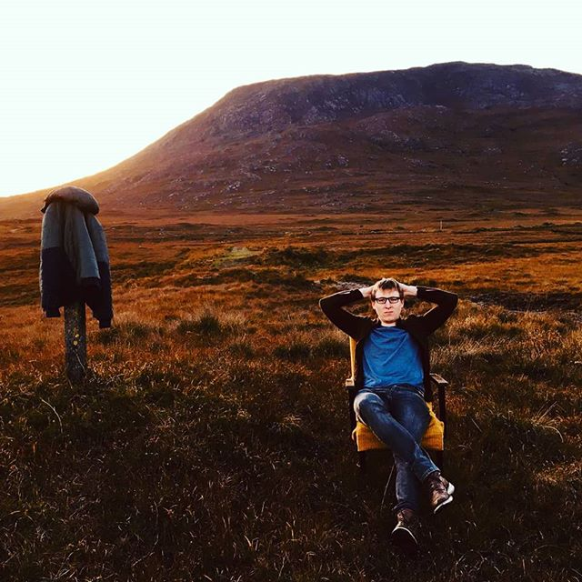 I've moved to the country and I'm not coming back! #connemara #mountain #sun #bog #west #barren #nature #video #grump #instagram #music Photo credit @laoisemccormack