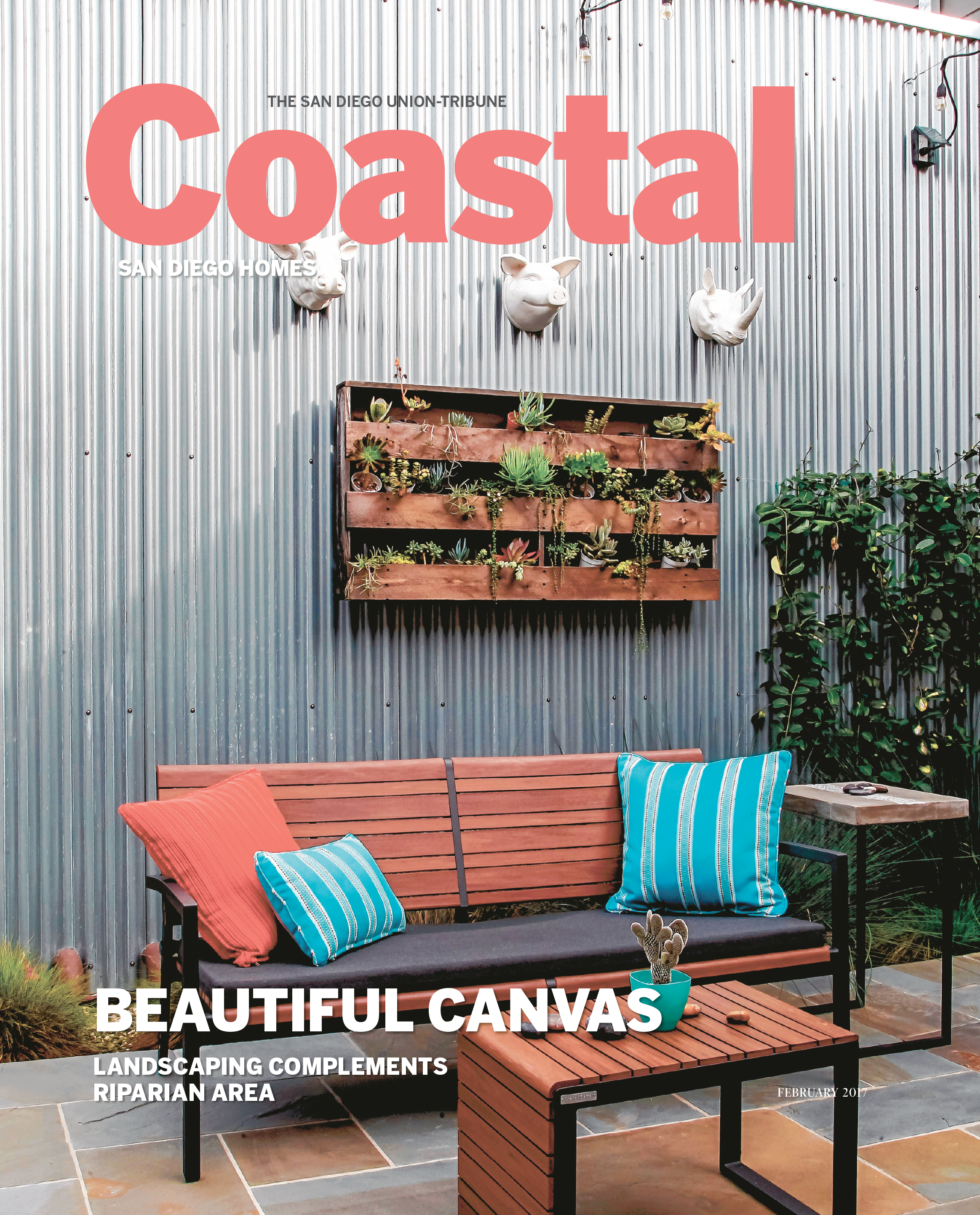 As featured in the 'Coastal'section of The San Diego Union-Tribune...