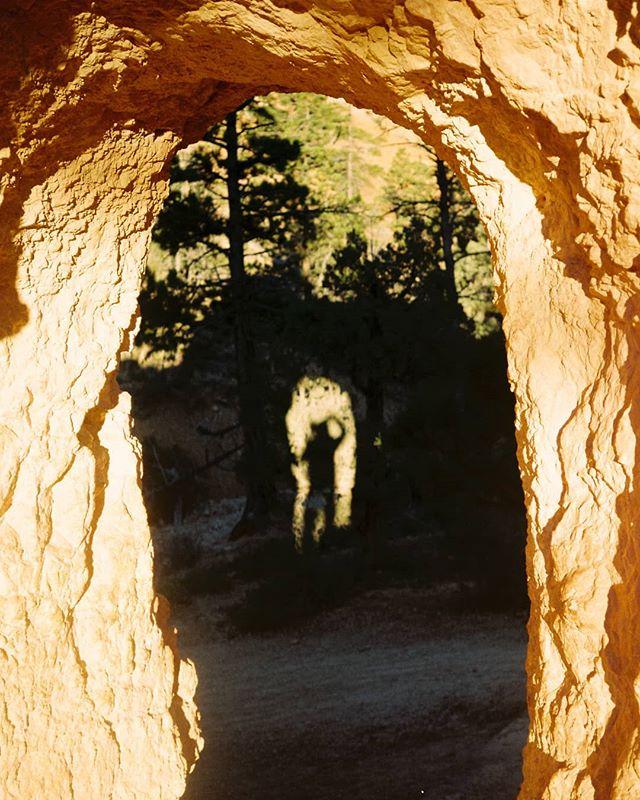 In the darkness, a shadow is like a compass. It shows you where to find the light.    📸 Minolta X-700 on  Fuji C200🎞 processed and scanned by @indiefilmlab   • • • • • #brycecanyon #artofvisuals #minolta #roadtrippers #livebravely #film #35mm #optoutside #adventurethatislife #neverstopexploring #thegreatoutdoors #exploremore #southwest #pct #trailchat #livetheadventure #goatworthy #menofoutdoors #thetrek #beautifulexplorers #utahisrad #roamfree #awakethesoul #bpmag #selfportrait #moody #timetoplay #alwaysgo #feedyouradventure #peoplestaringatstuff  