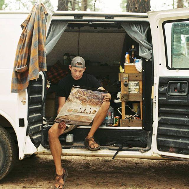 If you don't know where your going, any road will take you there.     #georgeharrison   📸Minolta X-700 on Fuji C200 🎞 • • • • • #brycecanyon #vanbuild #minolta #roadtrippers #livebravely #film #35mm #optoutside #adventurethatislife #neverstopexploring #thegreatoutdoors #exploremore #southwest #campervanlife #trailchat #livetheadventure #overland #menofoutdoors #thetrek #vanlife #utahisrad #roamfree #awakethesoul #campervan #homeiswhereyouparkit #timetoplay #alwaysgo #astrovan #peoplestaringatstuff
