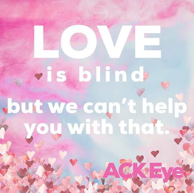 happy V-day with lots of love from the crew @ack.eye 💗👓🤪