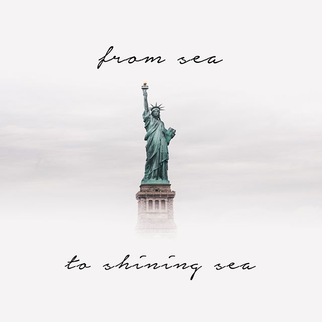 Happy Fourth to another fabulous grey lady! 🗽🇺🇸🌊